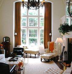 orange curtains | Dark Orange Curtains For Living Room | Orange Curtains And Drapes