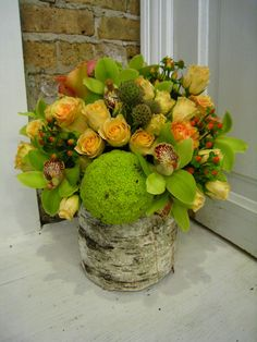 Shot of the Day | Dilly Lily - Hedge Apple in an Arrangement