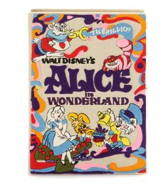 Olympia Le-Tan - Walt Disney Alice Book clutch - Add a touch of Olympia Le-Tan's whimsical appeal to your wardrobe with this 'Walt Disney Alice' addition to the house's book clutches. The charming design features an illustrative fairytale front and is finished with gold-tone hardware and Liberty London printed lining inside. Carry it in your hand next to an LBD for a perfectly party-ready look. seen @ www.mytheresa.com