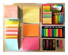 """studying-eh: """" My army of sticky notes """""""