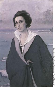 Romaine Brooks, Au bord de la mer (Self-Portrait) (1912)