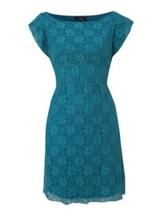 love the lace and it's one of my fav colors of blue!