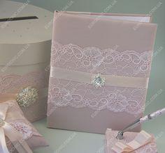 Свадебная папка Stars розовый кварц