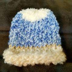 Infant beanie handmade by LizieWizie Crafty Creations.  #Facebook