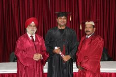 Dr. Sakar Kumar receiving certificate of Diploma in Minimal Access Surgery at World Laparoscopy Hospital. For more detail please log on to www.laparoscopyhospital.com