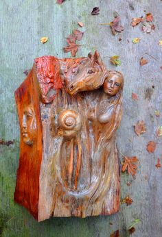 Horse Totem & Dreams Driftwood Sculpture by ShapingSpirit on Etsy