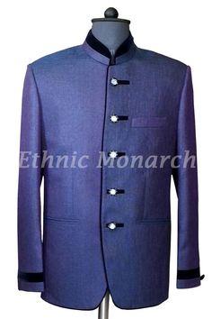 Purple Jodhpuri