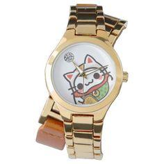 #gold - #Bae bae cats wrist watches