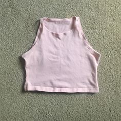 American apparel crop top Pale pink American apparel crop top perfect condition worn once American Apparel Tops Crop Tops