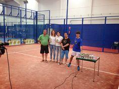 Padel en Cubierto Baena: Finales Torneo Benéfico V. de las Angustias