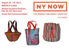 Conserve India invites you to NY NOW @August 2014