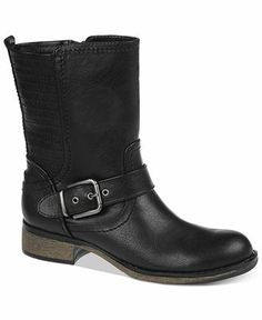 Fergalicious Exclusive Mid Shaft Engineer Booties - Boots - Shoes - Macy's