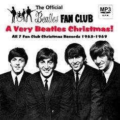 """The Official Beatles Fan Club 1965 """"Another Beatles Christmas Record"""" — 45 rpm Record Sleeve Beatles Album Covers, Beatles Albums, Beatles Photos, Music Album Covers, Lps, Radios, Liverpool, Beatles One, Christmas Albums"""