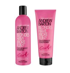 Andrew Barton Blondes Have More Fun Shampoo and Conditioner