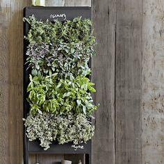 burlap sack vertical garden - Google Search