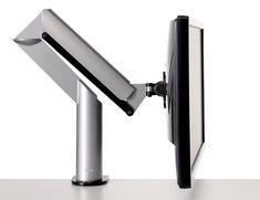 Knoll Silver Sapper XYZ Monitor Arm