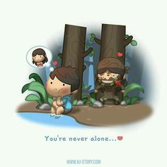 You're never alone!!! Lol, this is definitely me who's the girl!!! Hahaha