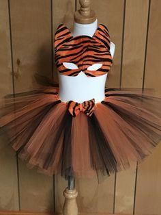 Shays happy bows & tutu boutique  Handmade tiger tutu costume