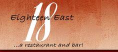 Just released, 18 East Restaurant!