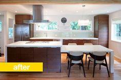 Gorgeously simple kitchen