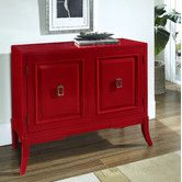 Found it at Wayfair - Habanero Accent Chest in Distressed Red