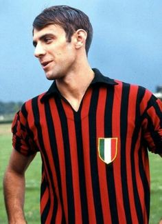Pierino Prati nel Milan 1969.
