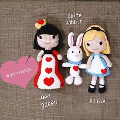 alice in wonderland crochet - Cerca con Google