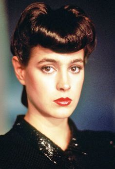 Sean Young in Bladerunner, loved her look in this. Love the film as well