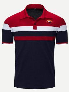 6a990402a Homens do Polo camisa 100% algodão de manga curta carta Logo famosa ...