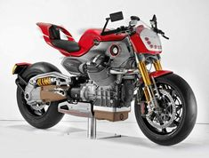 Moto Guzzi V12 prototype; developed around the 1,200 cc 4-valve 90-degree V-twin from Mandello. 6-speed Final drive: Compact reactive cardan shaft drive system: CA.R.C.; double cardan joint and floating bevel gear seat. http://www.motorcyclespecs.co.za/model/moto%20guzzi/moto_guzzi_v12_lemans_concept.htm