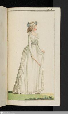 691 - Abschnitt - Journal des Luxus und der Moden - Page - Digitale Sammlungen - Digital Collections