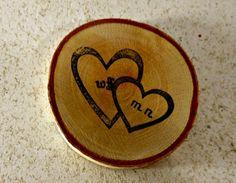 100 Rustic Birch Wedding Favor Coaster by marys4everflowers, $120.00