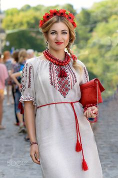 walk - Walking through the city on Independence Day of Ukraine Independence Day, Ukraine, Cold Shoulder Dress, Walking, City, People, Clothes, Dresses, Fashion