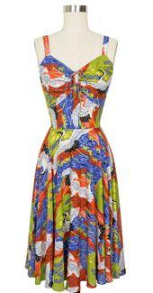 Trashy Diva L'Amour Dress in Cranes