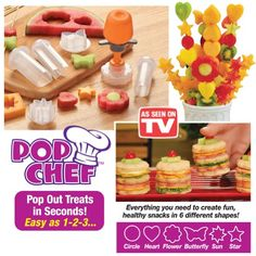 Pop Chef - Just Push, Pop And Create Collections Etc http://www.amazon.com/dp/B00CPS0DPM/ref=cm_sw_r_pi_dp_-JpRtb0Z90AVX28A