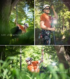 Photographer: AJBC Photography  Bartlett Arborist Supply and Manufacturing catalog images tree work and tree gear Model: Jake Carufel