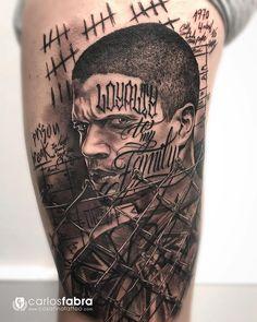 Likes, 191 Comments – Carlos Fabra CosaFina tattoo® ( Chicano Tattoos Sleeve, Best Sleeve Tattoos, Tattoo Sleeve Designs, Forearm Tattoos, Michael Scofield, La Familia Tattoo, Godfather Tattoo, Chicanas Tattoo, Jesus Tattoo