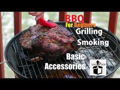 In todays video we are taking a look at Charcoal BBQ Grilling & Smoking Basic accessories For beginners. Bbq Grill Cleaner, Clean Grill, Charcoal Bbq, Brush Cleaner, Cooking Time, Smoking, Grilling, Essentials, Outdoors