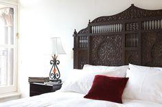 Beautiful moroccan headboard