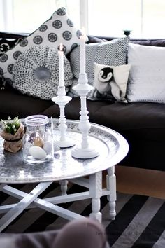 Moroccan Tables are a must, love my home decor