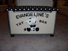 Farm Animal Toys, Farm Animals, Nursery Design, Toy Boxes, Custom Paint, Future Baby, Pet Toys, Toy Chest, Painted Furniture