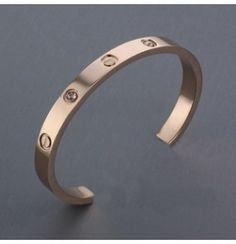 Cartier Leve Cuff in Rose Gold Plated