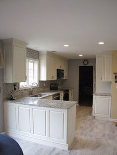Sunny Ridge Ave Project traditional-kitchen
