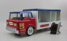'60s Nylint, Pepsi truck, pressed steel