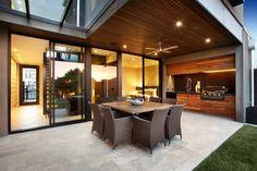 bbq stylish patio design