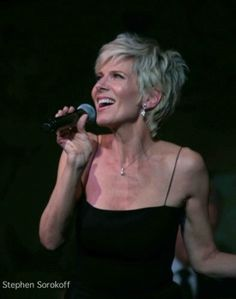 Debby Boone and her new short shag. I love it.