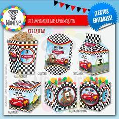 6 cars cumpleaños