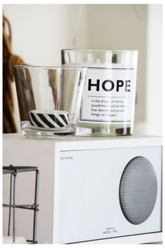 DYI - washi tape around tea-light