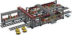 Image result for lego moc train