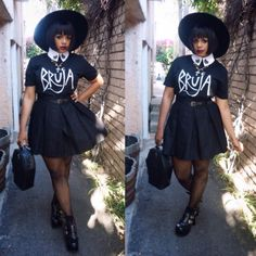 Eccentric/Eclectic/Carefree/Quirky/Freespirited/Goth BLACK GIRL APPRECIATION THREAD - Page 8